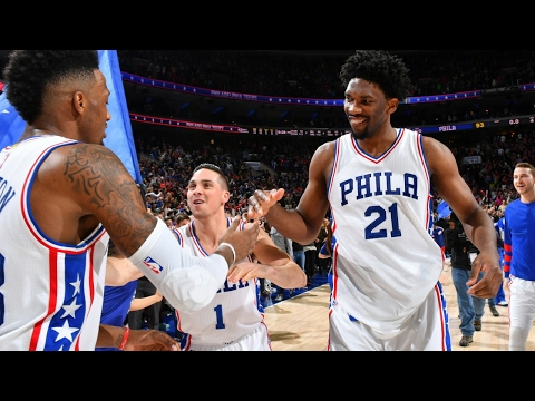 #RaiseTheCat Month In Review: Go Win-By-Win Through The Sixers' Wild 10-5 January