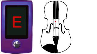 Violin Tuner - Fiddle Tuner - Cross Tuning A