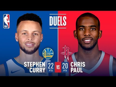 Chris Paul & Stephen Curry Battle In Game 5 Of The Western Conference Finals
