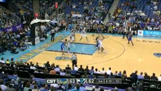 Hornets 92 Warriors 102, Marzo 21 de 2012 NBA