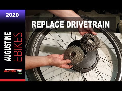 E bikes 2020: Replacing you Ebike's Drivetrain