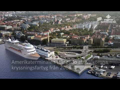 Amerikaterminalen - nytt kryssningsläge i Göteborg