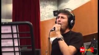 """Luca Barbarossa e Mario Biondi """"Occhi di Ragazza"""" Radio2 Social Club"""