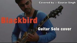 Blackbird - Alter Bridge guitar solo cover