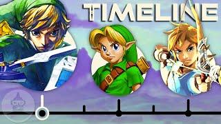 The Complete Legend of Zelda Timeline | The Leaderboard