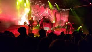 Amon Amarth - Death In Fire (Live @ Offenbach Stadthalle - 17.11.2016)