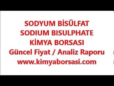 SODYUM BİSÜLFAT / SODIUM BISULPHATE