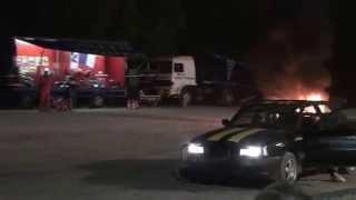 Monster truck en action
