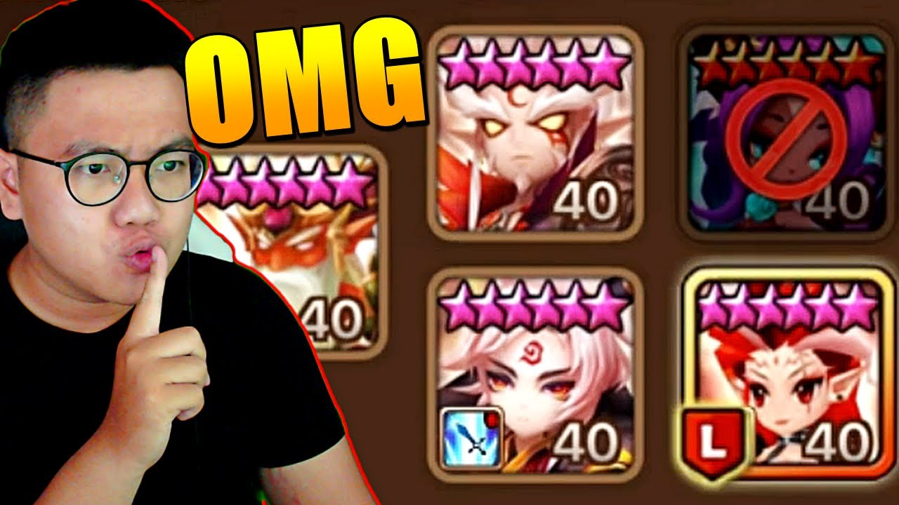 SeanB - This Secret Strategy Nobody Expected Got Me To Guardian   Summoners War