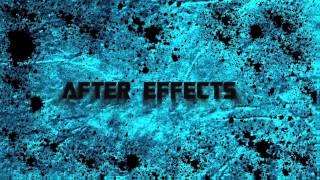 After Effects Intro : Paint Splatter 3D Text
