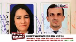 Helikopter Kazasında Üzümlü'den Şehit Var