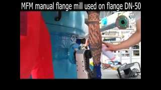 Manual FlangeMill - processing painted flange