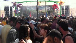 Infected Mushroom At Groove Attack Independence Rave 2012