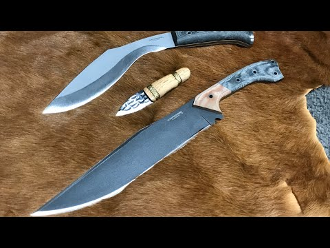 UPDATE: The K-Tact Kukri, The Atrox, and the Headstrong - Some News on all 3 Knives