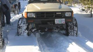 Vinegar Hill Snow Wheeling.wmv