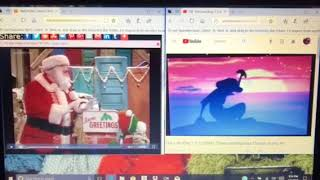 Timon and Pumbaa Interrupt Sesame Street: Elmo Saves Christmas (1996) #4