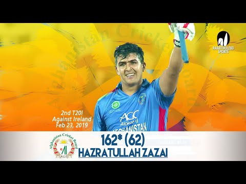 Download Video Hazratullah Zazai 162 Run Against Ireland | 2nd T20 |Afghanistan Vs Ireland In India 2019