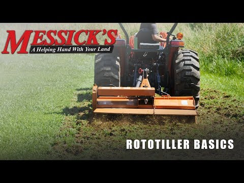 Rototillers | Buying tips, maintenance and operation. Picture