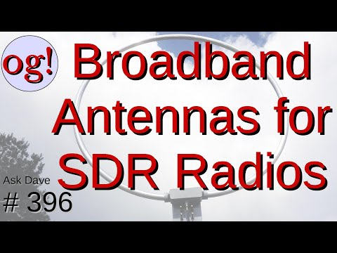 Wideband Antennas for SDR Radios (#396)
