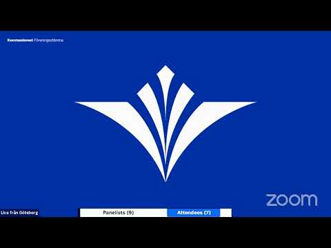 Kommuninvest Föreningsstämma 2020