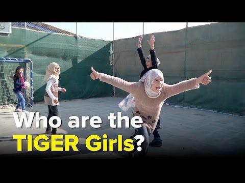 TIGER girls: Transforming young lives in Jordan