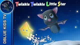 Twinkle Twinkle Little Star / Nursery rhyme for children / DBlue kids TV