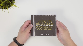 Star Wars The Force Awakens OST | Unboxing