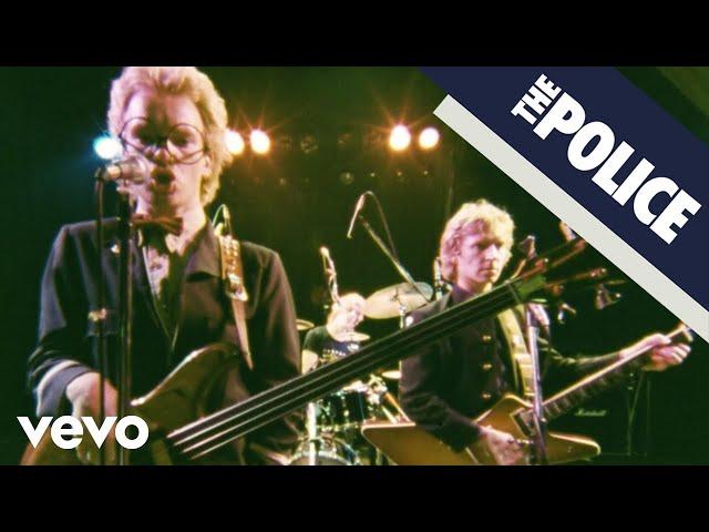 Vídeo de la canción Can't Stand Losing You de The Police