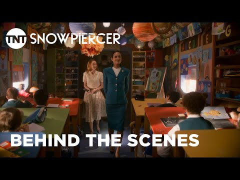 Snowpiercer: Behind The Scenes Look of the Train | TNT