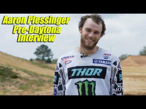 Aaron Plessinger Pre Daytona Supercross Interview - Motocross Action Magazine