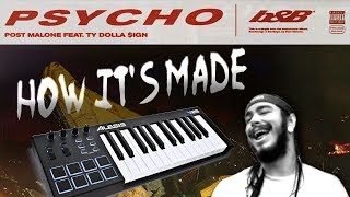 "How Post Malone's ""Psycho"" was made in 2 minutes"