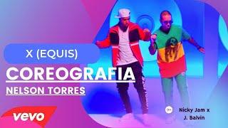X (EQUIS) -Nicky Jam Feat. J Balvin COREOGRAFIA ZUMBA by Nelson Torres
