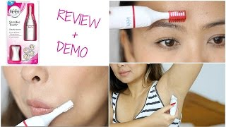 Veet Sensitive Touch Electric Trimmer | Demo & Review width=