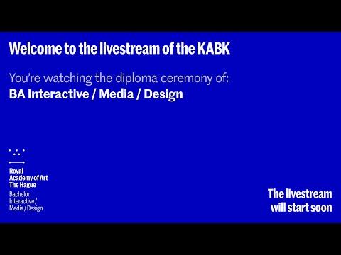 2020 Diploma Ceremony BA Interactive/Media/Design