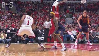 The Game Derrick Rose Turns Into Michael Jordan&Shocks LeBron James!