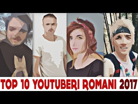 TOP 10 YOUTUBERI ROMANI