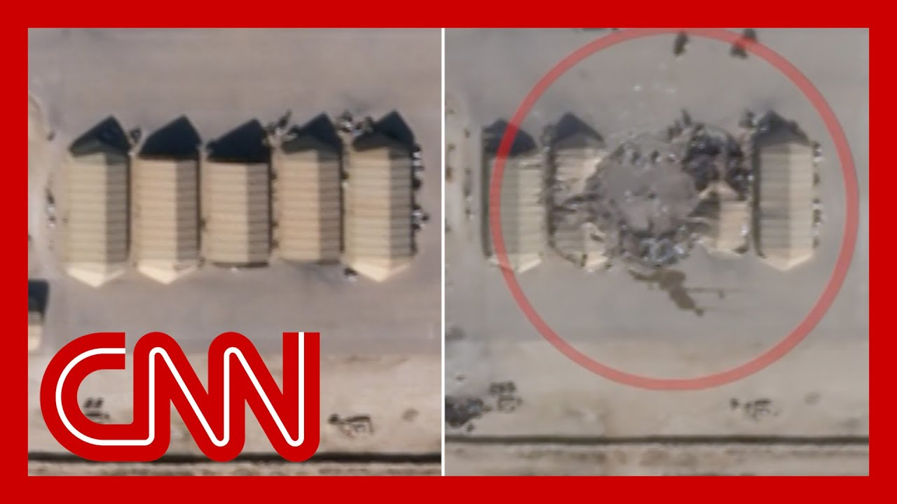 Satellite Images Appear to Show Damage from Iranian Missiles
