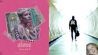 Alone x Faded - Halsey & Alan Walker