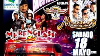 MERENGLASS / MALCREADOS / BANDA ESTAMPIDA / EN MERIDA SPOT RADIO
