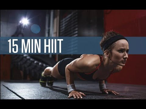 15 Minute Total Body HIIT Workout (QUICK CALORIE BURN!!)