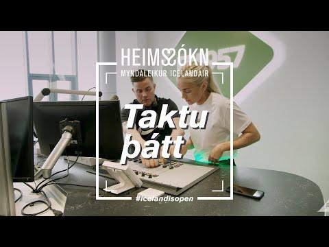 Heims-sókn   Bibba og Rikki G   Icelandair