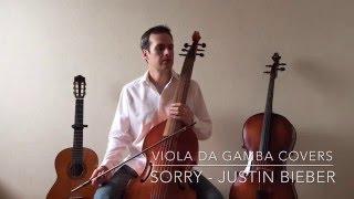 Sorry - Justin Bieber (Viola da gamba cover)