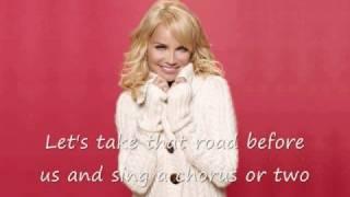 "Kristin Chenoweth - ""Sleigh Ride/Marshmallow World"""