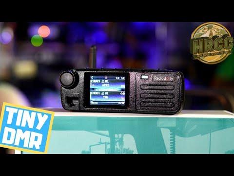 Radioddity DB25D - Tiny Mobile DMR Radio