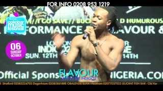 FLAVOUR performs NWA BABY (ASHEWO) at the IndigO2 - ARE U READY FOR SUN 6TH OCT LONDON INDIGO2