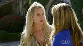 Fallon and Alexis - Dynasty 1x17 - The Pool Fight Scene