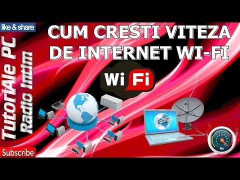 CUM CRESTI VITEZA DE INTERNET WI-FI