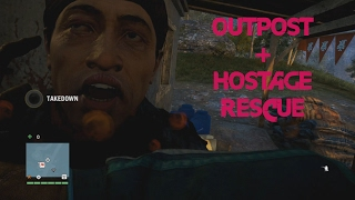 Far Cry 4 | Undetected Outpost Liberation + Stealth Hostage Rescue