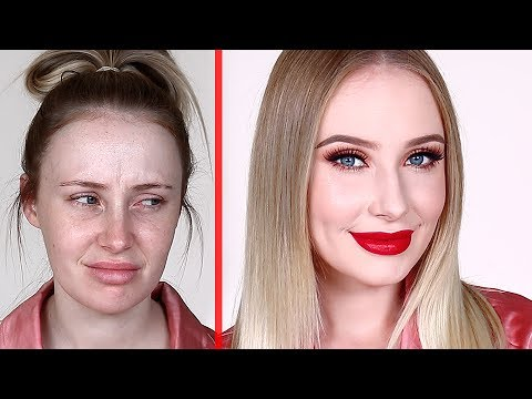 '5 MINUTE' GLO UP TUTORIAL! | Lauren Curtis