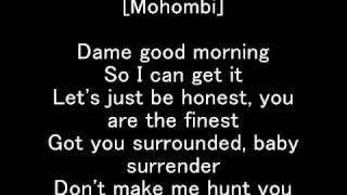 Suavemente - Nayer Feat. Pitbull & Mohombi-Lyrics